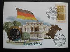 """Numisbrief Deutschland 5 Deutsche Mark  Münze 1986 """" D """" Sammlerstück"""