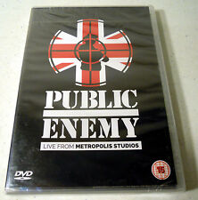 Public Enemy: Live from Metropolis Studios (DVD, 2015) NEW Factory Sealed