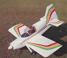 1/4 Scale Bede BD-8 Aerobatic Airplane Plans,Templates and Instructions 68ws