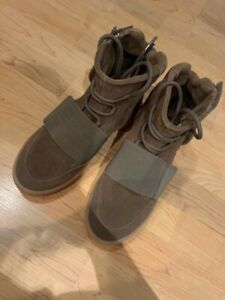 100% Authentic adidas Yeezy Boost 750 Light Brown Gum (Chocolate) Size 9.5