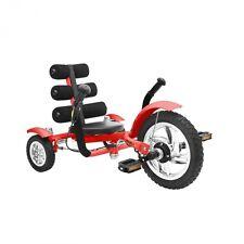 Mobo Cruiser Mini Recumbent Bike Children's Tricycle - Recumbent Bicycle Red