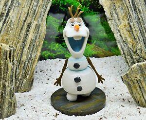 Snowman Olaf Frozen Kids Aquarium Fish Tank Ornament Christmas