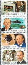 Ras al Khaima 1969 ** Mi.335/38 A Weltraum Space Apollo Nixon Armstrong Collins