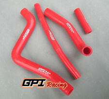silicone radiator hose FOR Kawasaki KX125 kx 125 1994-2002 95 96 97 98 99, RED