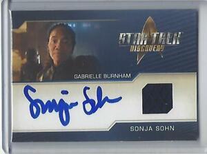 Star Trek Discovery Season 2 Sonja Sohn Autograph Costume Relic