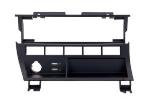 Dynavin Funktionsträger für BMW E46, Mittelkonsole für Einzeltaster, 2 x USB