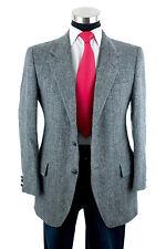 Kupp HARRIS TWEED Mens Herringbone Sport Coat Jacket Blazer Scottish Wool sZ 42
