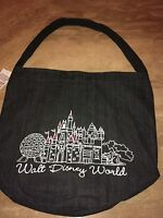 Disney World Denim Large Tote Bag Authentic New