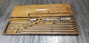 "Starrett 124C 124-C 2-32""  Inside Micrometer w/Etchings.  lot#S"