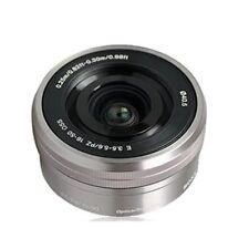 Sony E 16-50mm f/3.5-5.6 OSS PZ (SEL-1650) Objektiv Silber neu SEL1650