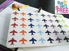 PP038-- Airplane Life Planner Stickers for Erin Condren (40pcs) BUY 2 GET 1 FREE