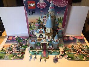 Lego Disney Princess Cinderellas Romantic Castle 100% 41055 box instruction 2014