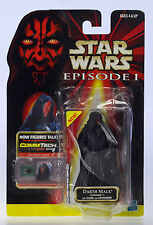 Nip Star Wars Darth Maul Tatooine Sith Episode 1 CommTech Chip Figure Moc Mosc