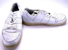 b9b2b463982 LaCoste Shoes Thrill Space 001 Perforated Athletic White Sneakers Size 11.5