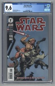 Star Wars #17 1st App Quinlan Vos Dark Horse Comics 2000 CGC 9.6