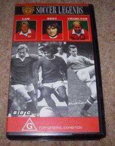Manchester United: Soccer Legends Video [VHS] - Law, Best & Charlton,