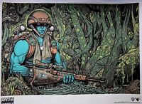 FLORIAN BERTMER Rogue Warrior Silkscreen Graphic Art Poster Numbered . Emek Ames