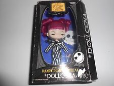 "RARE - NIGHTMARE BEFORE CHRISTMAS TOMY DOLLCENA  ""DANDY PUMPKIN GREAT"" 4"" DOLL"