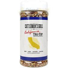 Cattleman's Grill California Tri-Tip Rub & Seasoning 10.5 Oz Mellow Blend Flavor