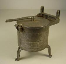 Antike Puppenküchen / Puppenstuben Waschmaschine um 1920