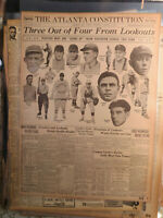 Baseball History Newspaper 1914 PLAYERS GOING UP FROM SOUTHERN LEAGUE ATLANTA