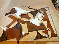Kuhfell Reste Fellreste Kuhfellreste Stücke zum Basteln, echtes Kuhfell A1