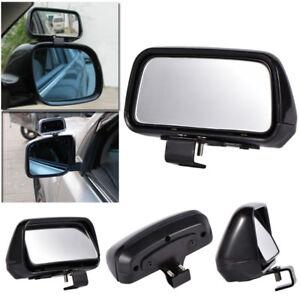 1pc Black HD Car Van Adjustable View Blind Spot Wide Angle Rear Mirror #079