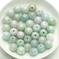 New Pure 100% Natural Chinese Jade/Jadeite Loose 13mm Beads / 30 PCS(Wholesale)