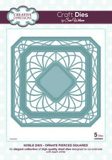 Creative Expressions NOBLE COLLECTION Ornate Pierced Squares CED5504 Sue Wilson