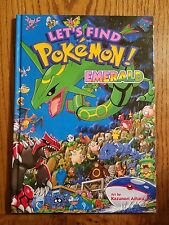 Let's Find Pokemon Emerald Hardcover Book