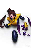 MARAUDERS 3 Marvel JEEHYUNG LEE Virgin Kitty Pryde Red Queen Variant DX