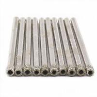 """10Pcs 3 mm 1/8"""" inch Diamond Hole Saw Core Drill Bit Coated Glass Masonry Tools"""