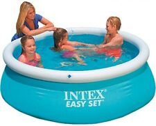 Piscina hinchable - Intex 28101NP Easy Set - 183 x 51 cm, 880 litros