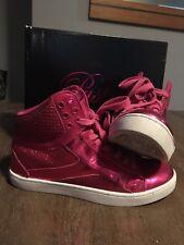 Pastry (fuschia Poptart) Hip Hop Shoes Size 7