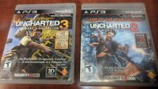 PS3 UNCHARTED 2 AMONG THIEVES & UNCHARTED 3 DRAKE'S DECEPTION (2 GAMES)