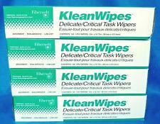 Fiberweb Klean Wipes Delicate/Critical Task Wipes 140 Wipes Per Box 4 Boxes