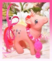❤️My Little Pony MLP G1 Vintage 1984 Skyflier Pink Unicorn Glitter Kites❤️