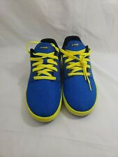 Fox Shoes Blue and Yellow lace up Size 8