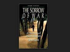 THE SORROW OF WAR a novel by Bao Ninh FREE SHIPPING paperback book Vietnam
