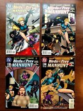 Birds of Prey: Manhunt 1 2 3 4 NM Complete Catwoman Huntress Oracle Black Canary