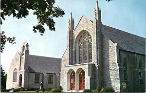 1960s Milford Delaware Avenue Methodist Church Vtg Postcard GU