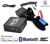 Interface Bluetooth Auxiliaire MP3 Autoradios Origine Peugeot RD3 avant 2006