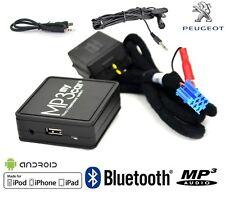 Interface Bluetooth Auxiliaire MP3 Autoradios Origine Peugeot RD3 avant 2006