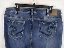 Silver Jeans Suki Capri Women's Size 20 Length 22.5 Plus Size The Buckle Stretch