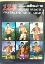 NEW 123 ALL TIME GREATEST MUAY THAI FIGHTERS COLLECTIBLE BOOK History
