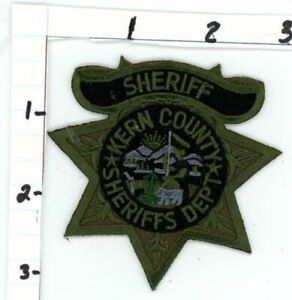CALIFORNIA CA KERN COUNTY SHERIFF SUBDUED SWAT STYLE NEW PATCH POLICE