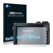 6x Film Protection écran pour Canon Powershot G9 X Mark II Protecteur