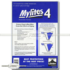 50 - Mylites 4 Golden Age 4-Mil Mylar Comic Book Bags by E. Gerber - 800M4