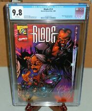 💀 Blade #1/2 (# Half) CGC 9.8 Wizard Press/Marvel Comics 1999  💀