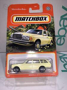 Matchbox Diecast Cars - 2021 Car - Mercedes Benz S123 Station Wagon- Long  Card.